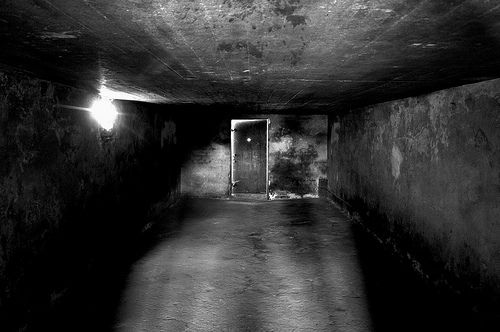 Gas chamber at Majdanek | Other concentration and ...