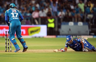 Pune Warriors  VS Mumbai Indians IPL Highlights: Today's 2013 Indian Premier League (IPL) 58th match between the Mumbai Indians(MI) and v Pune Warriors India(PWI) IPL match scheduled at May 11,2013 at 8pm IST.  below IPL 58th match Live Scores