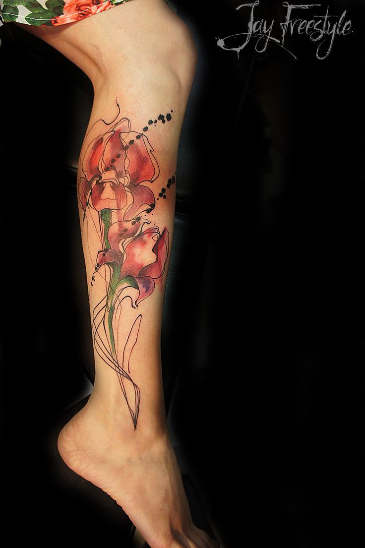 21 best flower tattoos images on floral