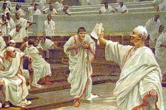 La oratoria romana