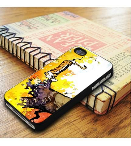 Calvin And Hobbes Sleep In Tree iPhone 5|iPhone 5S Case