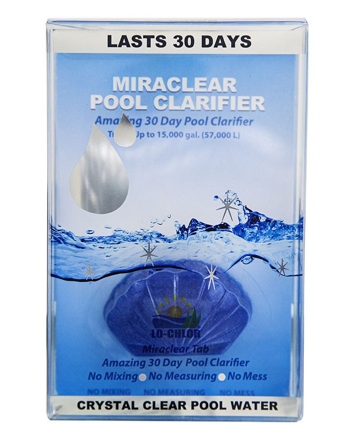 Miraclear 174 Pool Clarifier Tab Pools And Products