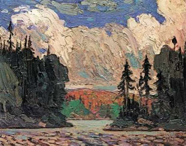 Tom Thomson Black Spruce In Autumn