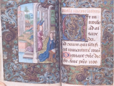 livre d'heures à l'usage de Rome | Namur[localité], Musée provincial des Arts anciens du Namurois | Maître d'Edouard IV (miniaturiste) (école), Date: 1476 (ca) - 1500