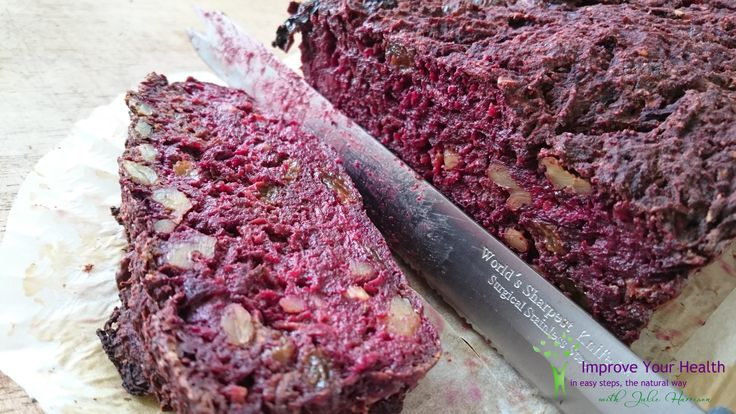Beetroot, Parsnip and Chocolate Cake