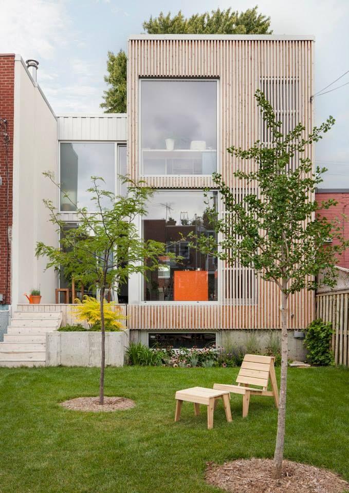 Los angeles Maison de l. a. 18e road dans le quartier Rosemont à Montréal – Une jolie jolie transformation