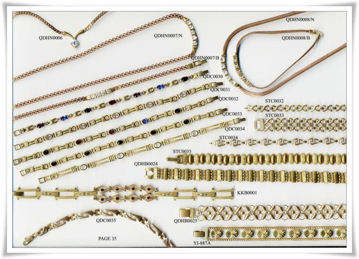 brass chain 35
