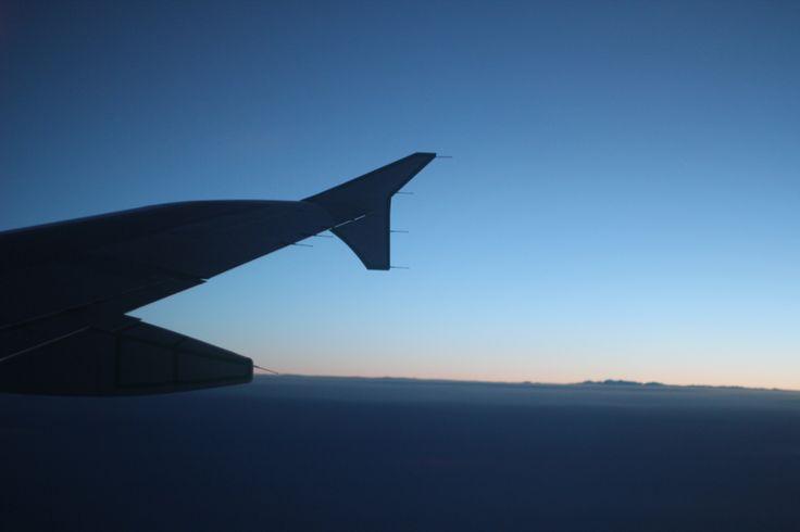 Twlight from the sky #aircanada #yyz #yyc