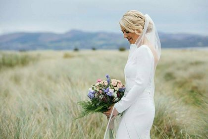 Just want to say a massive thank you to you all in the White Room and especially Marie for all the help, kindest and having a lovely experience in getting my wedding dress and veil. I married Michael in Rathmullan House in Donegal on 12th September 2017.  Every time I visited,  I received a very professional service but also really friendly and never felt under pressure to make any decisions or rushed time wise. - Lorraine Hannon