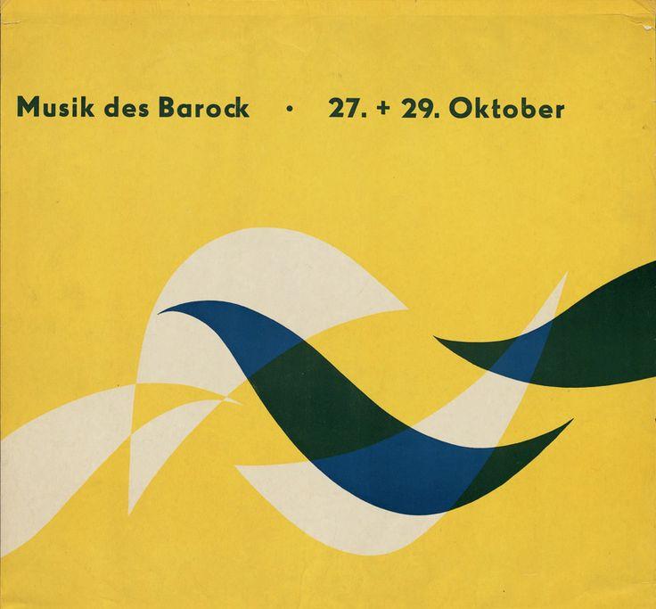 Otl Aicher, Musik des Barock, 1949-51