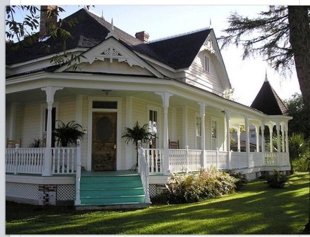 126 best images about farm houses and farm animals on for Houses with porches all the way around