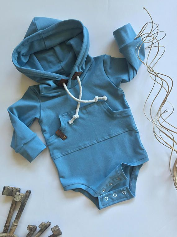 Baby bodysuit baby hoodie baby sweatshirt gender neutral