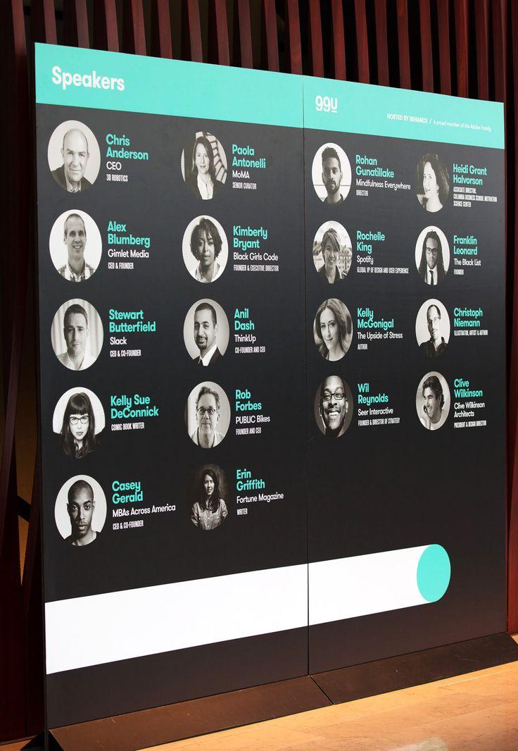 99U Conference Collateral Branding — Aurelio Sánchez — Art Direction — Graphic…