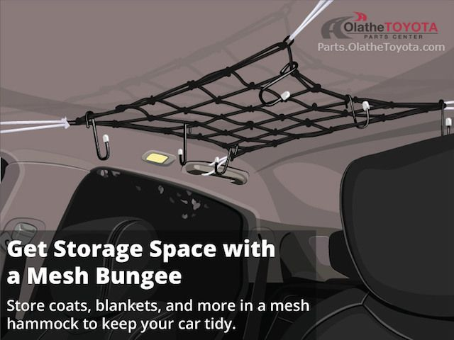 20 best 2004 toyota highlander images on pinterest toyota install a mesh bungee hammock for overhead storage in your highlander fandeluxe Image collections
