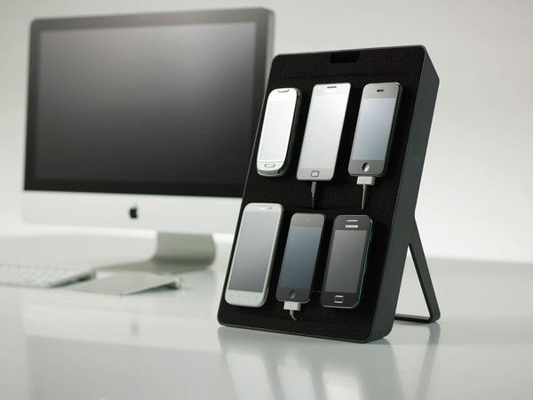 This looks awesome. I have 7 devices sitting in my drawer, and this would be phenomenal during testing... But, at $150, it'll be a DIY project for me.