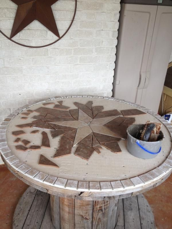 Wooden Spool Table - TexasBowhunter.com Community Discussion Forums