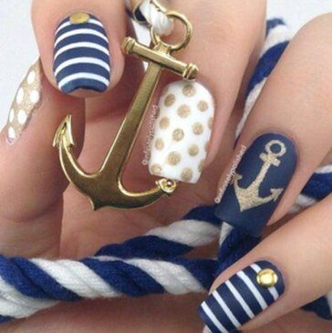 nail art summer colors