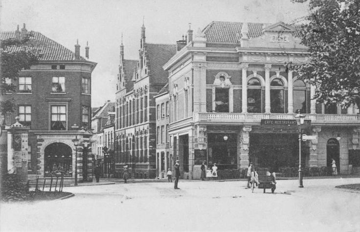 Blik in de Jansstraat vanaf het Willemsplein