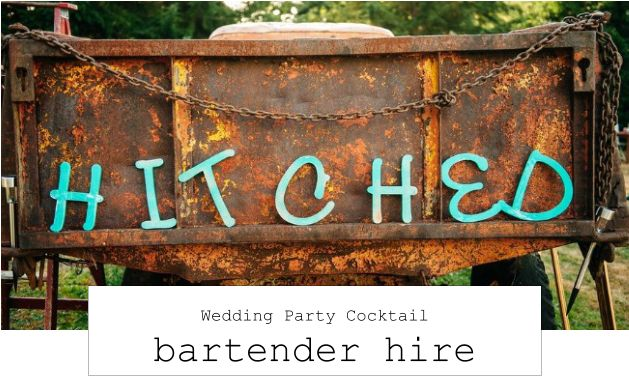 wedding party bartender hire
