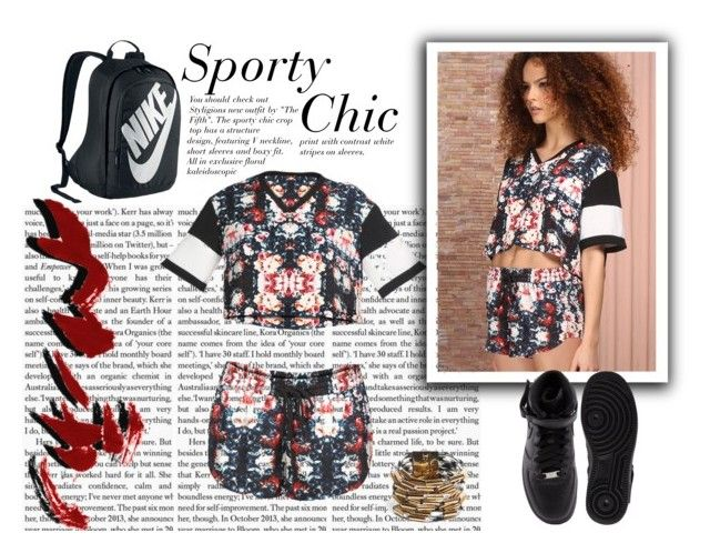 """""""Sporty Chic"""" by styligion on Polyvore"""
