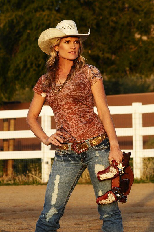 Kenda Lenseigne And Her Favorite Cimarron Firearms And