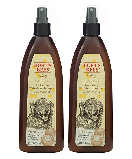 Burts Bees Coconut Oil Hydrating Shampoo Spray for Dogs - Set of Two | zulily