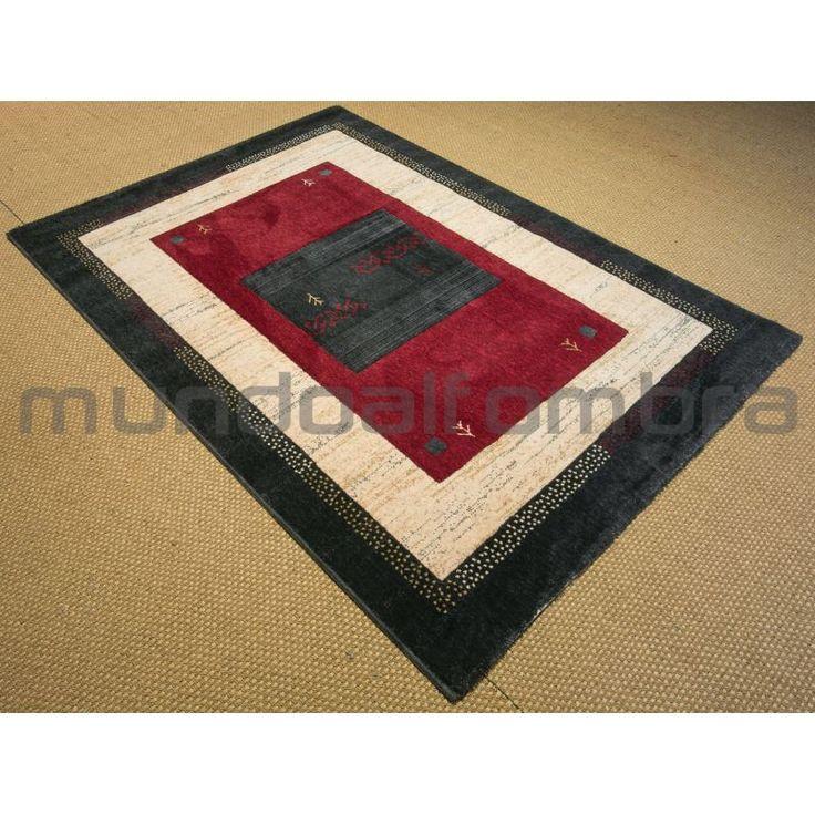 alfombra online de estilo etnico tipo gabbeh en colores a elegir y tamaos pasilleros