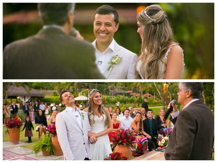 Miniwedding rústico - Discurso do pai da noiva  - Foto: Diogo Dubem