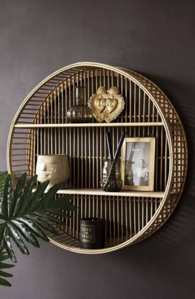 Switch Your Furniture To Eco Friendly Bamboo In 2020 Round Wall Shelves Home Decor Decor
