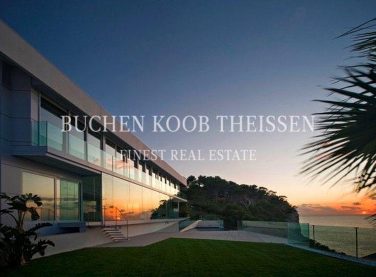 Spektakuläre Villa mit Meerblick und Meereszugang  #Mallorca #Spain #Sunset #BKT