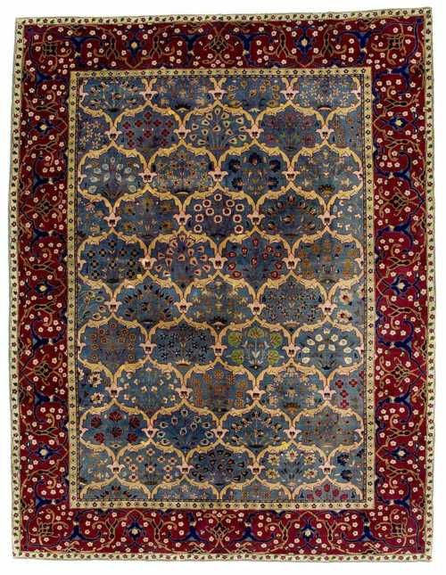 Tabriz Rugs Just Like The Color Blueberries And Plums My Favorite Combo
