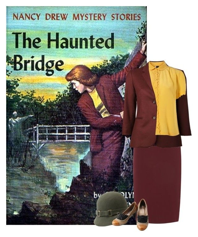 """""""Nancy Drew: The Haunted Bridge"""" by goddess-of-moonlight ❤ liked on Polyvore"""