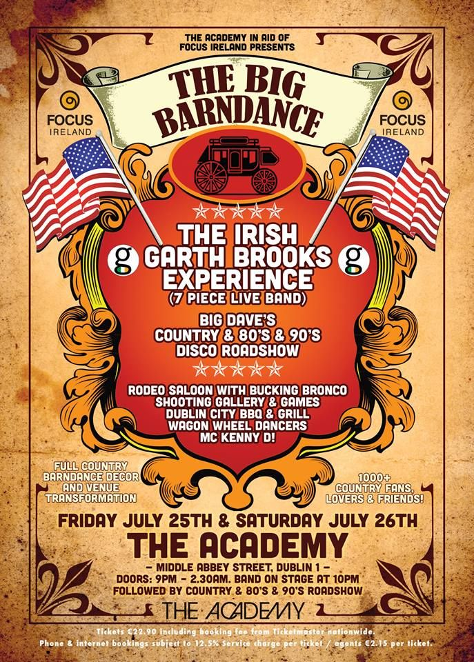 THE BIG BARNDANCE - Fri 25th & Sat 26th July
