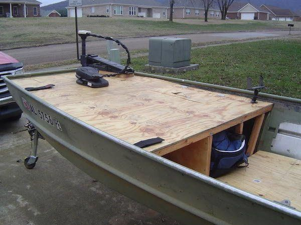 10 Decked Out Jon Boats You Ll Want For Yourself Jon Boat Fishing Boat Accessories Jon Boat Fishing