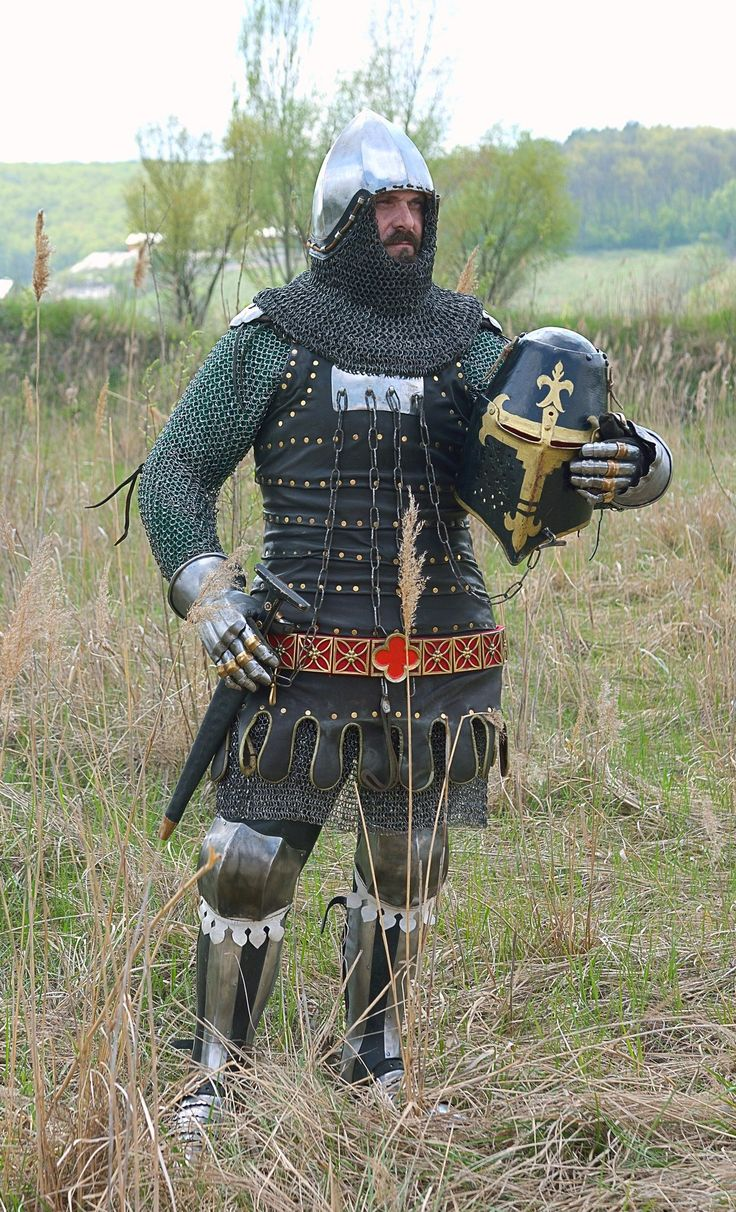 """Reconstruction armor 1340-1360 g Germany Research group """"Хранители"""""""