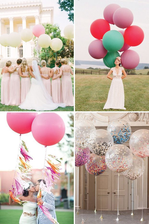 25 best ideas about giant balloons on pinterest balloon for Balloon decoration ideas for weddings