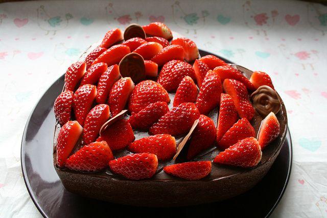 fresas by Luz Mendoza Patterns, via Flickr