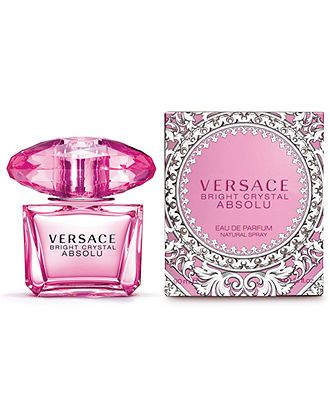 Versace Bright Crystal Absolu Eau de Parfum Spray  I prefer scented body butters, but I LOVE this scent.