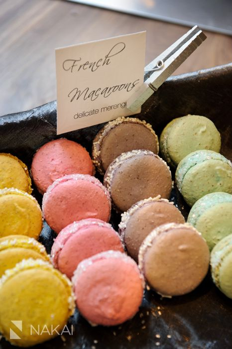 French Macarons made for the BHLDN Chicago store opening