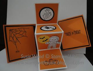 Stampin' Up!- Check out my cool Halloween Pop-Up Panel card!