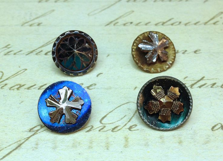 Excited to share the latest addition to my #etsy shop: 4 Small Antique Metal Steel Cut Era Buttons 13 mm http://etsy.me/2ALuz6V #supplies #button #metalbuttons #antiquebuttons #small #metalbutton #victorianbuttons #antiquebutton #13mm