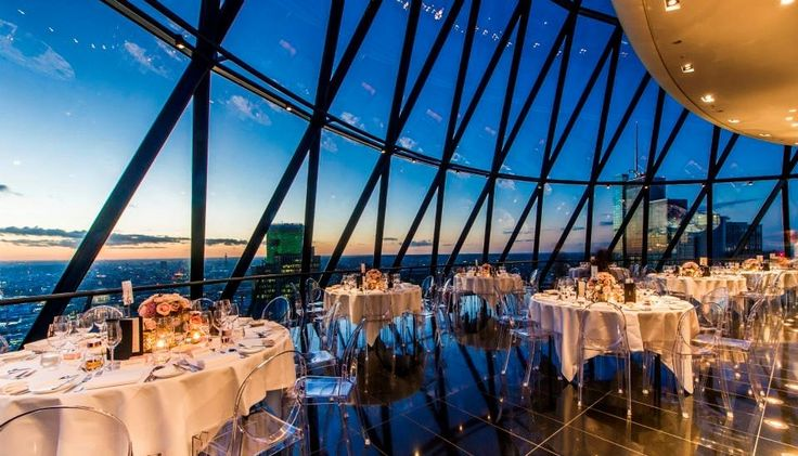 Searcys The Gherkin Wedding Venue London, East Central London | hitched.co.uk