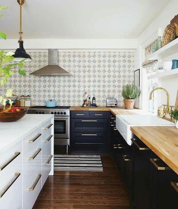 11 best Küche images on Pinterest Home, At home and Kitchen - küchenarbeitsplatte aus holz