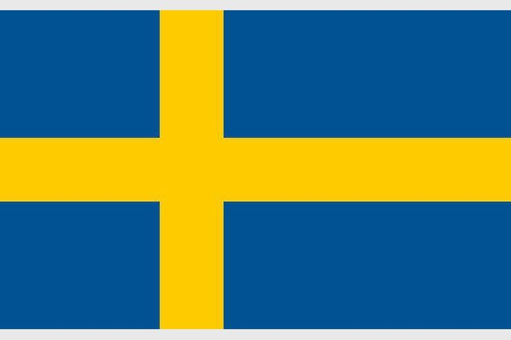 Imagini pentru stema, drapelul si harta Suediei