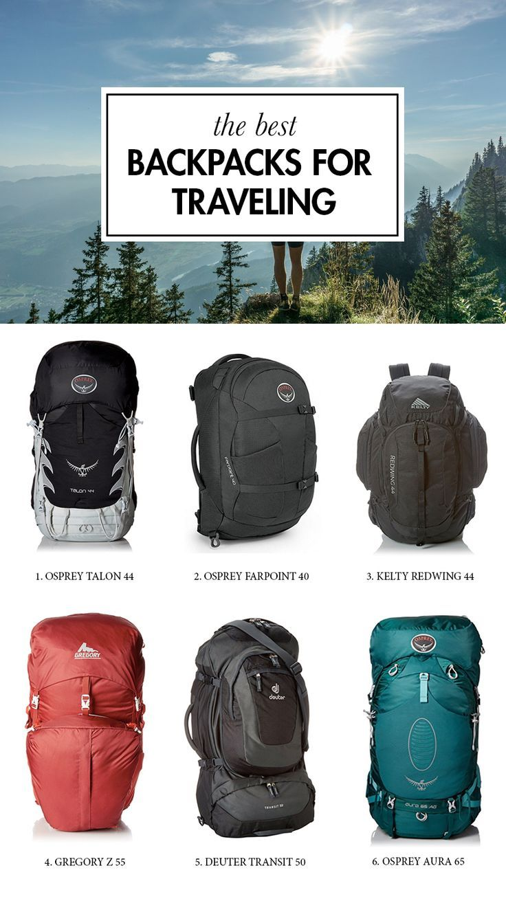 Looking for the best backpack for traveling? Look no further. We have compiled a list of the best travel backpacks, so you don't have to spend hours upon hours on research.  ------------ osprey talon and farpoint, kelty redwing, gregory z55, deuter transit