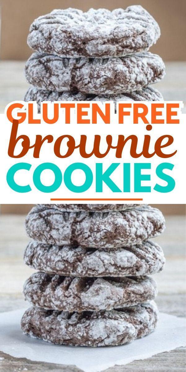 Easy Quick Recipe Gluten Free Brownie Cookies Taste The Best