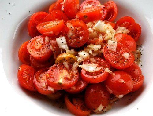 Fransk tomatsallad | Receptfavoriter