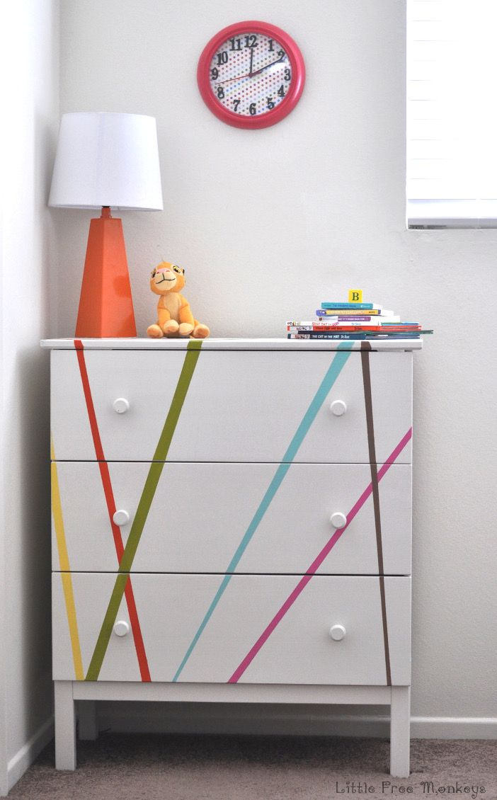 Colorful Ikea Tarva Dresser