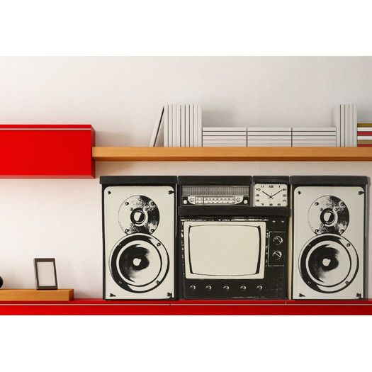 Molla Space, Inc. Radio Home Storage Box