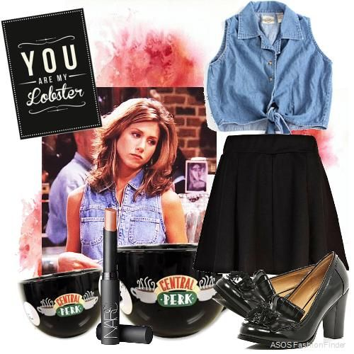 Rachel Green would be such a CUTE Halloween costume!!!